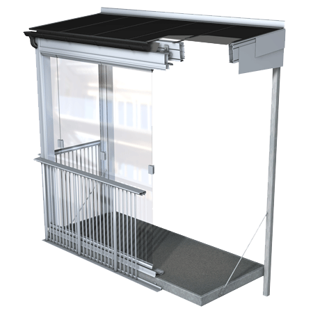 Balkonų stiklinimas ir hidroizolizcija