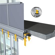 Balkonų stiklinimas aliuminio sistemomis