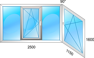 Balkono stiklinimas plastiku